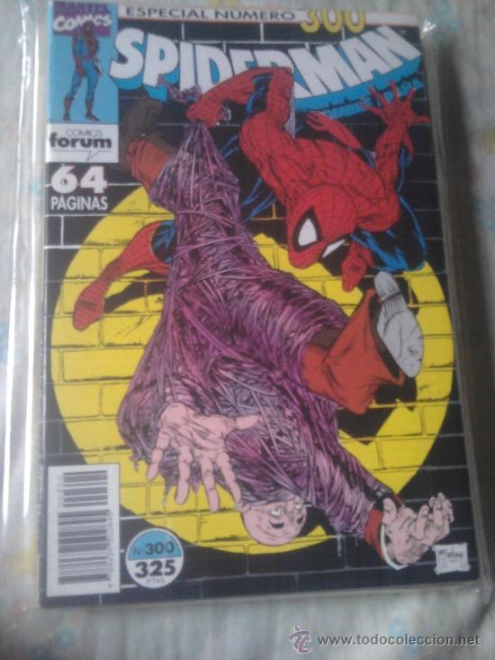 Cómics: SPIDERMAN RETAPADO Nº 296 297 298 299 y 300 - Foto 2 - 36447197
