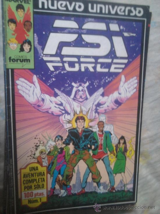 STAR BRAND JUSTICE PSI FORCE NUEVO UNIVERSO MARVEL COMPLETO (Tebeos y Comics - Forum - Otros Forum)