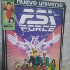 Cómics: STAR BRAND JUSTICE PSI FORCE NUEVO UNIVERSO MARVEL COMPLETO. Lote 36453376