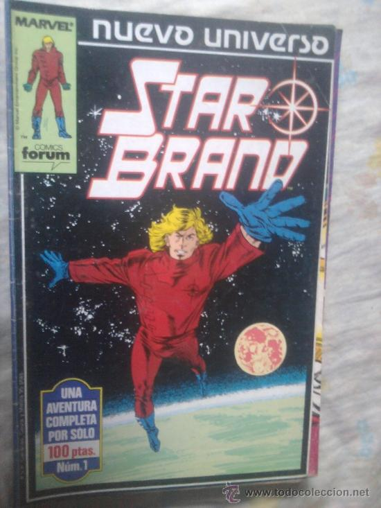 Cómics: Star Brand Justice Psi Force Nuevo Universo Marvel completo - Foto 2 - 36453376