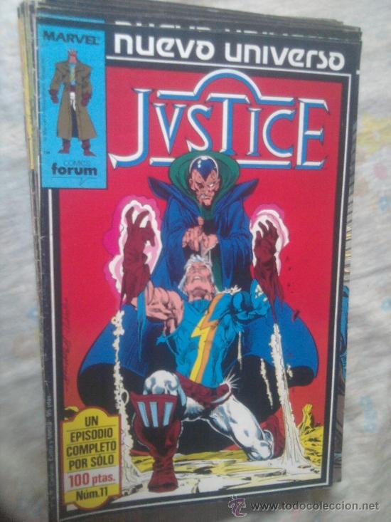 Cómics: Star Brand Justice Psi Force Nuevo Universo Marvel completo - Foto 3 - 36453376