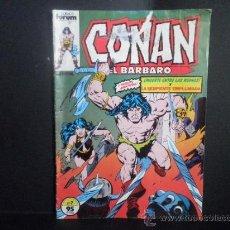 Comics - CONAN EL BARBARO - MUERTE ENTRE LAS RUINAS Y LA SERPIENTE EMPLUMADA - Nº 7 - COMICS FORUM - 36489217