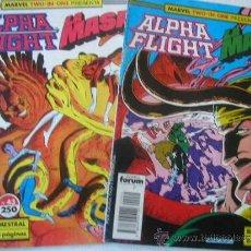 Cómics: LOTE ALPHA FLIGHT-LA MASA MARVEL TWO-IN-ONE Nº 43 Y 44. Lote 36515353