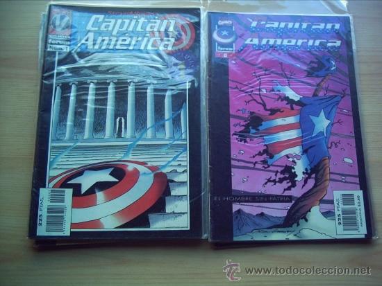 CAPITÁN AMÉRICA. VOLUMEN III. MARVELOUTION. COMPLETA. 11 NÚMEROS. (Tebeos y Comics - Forum - Capitán América)