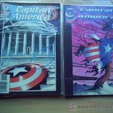 Cómics: CAPITÁN AMÉRICA. VOLUMEN III. MARVELOUTION. COMPLETA. 11 NÚMEROS.. Lote 36535244