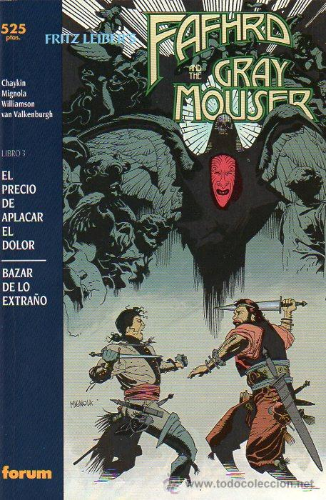 COLECCIÓN PRESTIGIO VOL.1 Nº 32 - FORUM FAFHRD AND THE GREY MOUSER LIBRO 3 - MIKE MIGNOLA (Tebeos y Comics - Forum - Prestiges y Tomos)