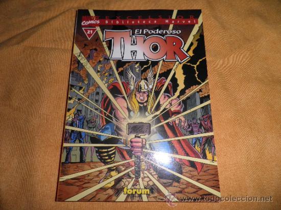 THOR BIBLIOTECA MARVEL Nº 21 FORUM (Tebeos y Comics - Forum - Thor)