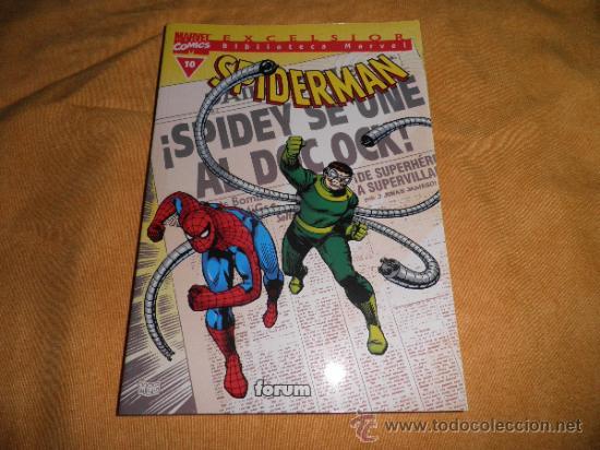 SPIDERMAN BIBLIOTECA MARVEL Nº 10 FORUM (Tebeos y Comics - Forum - Prestiges y Tomos)