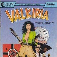 Cómics: VALKIRIA Nº1 (CHUCK DIXON). Lote 36561233