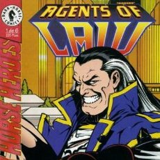 Cómics: AGENTS OF LAW (DARK HORSE) [SERIE COMPLETA]. Lote 36563157
