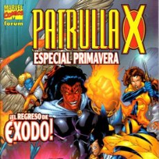 Cómics: LA PATRULLA-X ESPECIAL PRIMAVERA 2002. Lote 36637466