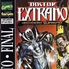 Cómics: DOCTOR EXTRAÑO: RITO FINAL Nº1. Lote 36640970