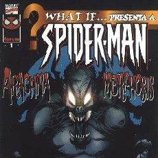 Cómics: WHAT IF... VOL. 2 Nº1 - SPIDERMAN, ARACNOMORFOSIS. Lote 36641107