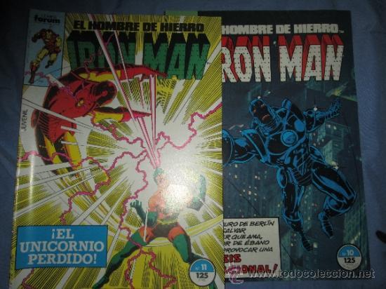 IRON MAN NºS 10 Y 11 POSIBILIDAD NÚMEROS SUELTOS (Tebeos y Comics - Forum - Iron Man)
