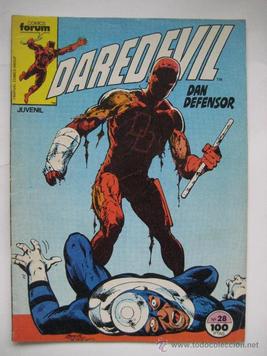 DAREDEVIL Nº 28. VOL. 1. FORUM (Tebeos y Comics - Forum - Daredevil)