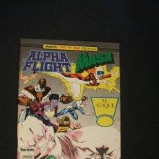 Cómics: ALPHA FLIGHT - LA MASA - Nº 42 - FORUM - . Lote 36709978