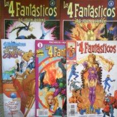 Cómics: LOTE CINCO COMICS LOS 4 FANTÁSTICOS. Lote 36742736