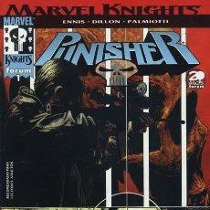 Cómics: MARVEL KNIGHTS: PUNISHER, VOL. 2 [NUMEROS 1, 2, 4, 7, 8] TAMBIEN SUELTOS. Lote 36772852