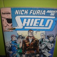 Cómics: NICK FURIA. AGENTE DE SHIELD. RETAPADO CON LOS NUMEROS 1 AL 5. Lote 36785502