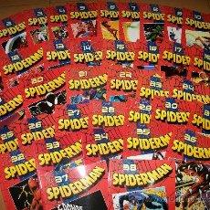 Cómics: LOTE SPIDERMAN – NUMEROS 1 AL 38 – COLECCIÓN – MARVEL. Lote 36803370