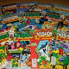 Cómics: LOTE 12 NUMEROS LA VISION Y LA BRUJA ESCARLATA – 1 AL 5 + 7 AL 12 + 14 – FORUM – MARVEL. Lote 36804452