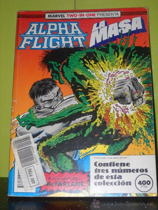 MARVEL TWO IN ONE. ALPHA FLIGHT - LA MASA. 51, 52 Y 53 EN UN RETAPADO (Tebeos y Comics - Forum - Alpha Flight)