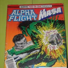 Cómics: MARVEL TWO IN ONE. ALPHA FLIGHT - LA MASA. 51, 52 Y 53 EN UN RETAPADO. Lote 36869354