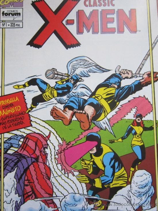 CLASSIC X-MEN Nº 1 - FORUM (Tebeos y Comics - Forum - X-Men)