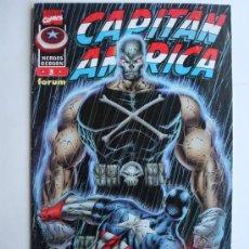Cómics: CAPITÁN AMÉRICA HEROES REBORN Nº 3 - FORUM (MARVEL). Lote 36868512