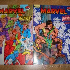 Cómics: CLÁSICOS MARVEL 10-11 (FORUM, 1989). Lote 36884960