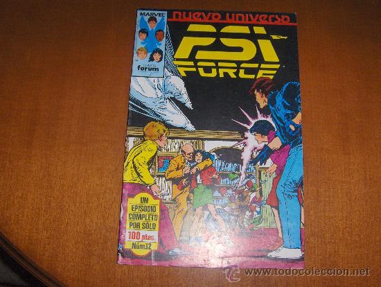 FORUM PSI FORCE NUMERO 12 (Tebeos y Comics - Forum - Otros Forum)