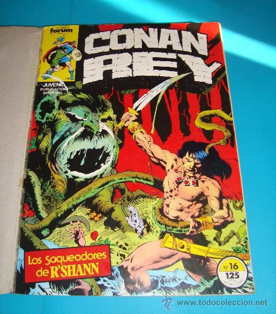 Cómics: MARVEL COMICS GROUP CONAN REY, COMICS FORUN 5 NUMEROS (Nº 16, Nº 17, Nº18, Nº 19 Y Nº 20) - Foto 2 - 36892853