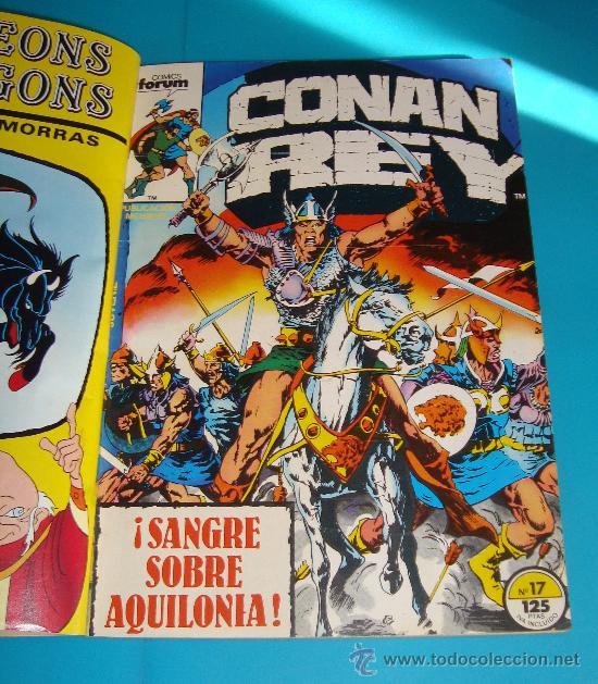 Cómics: MARVEL COMICS GROUP CONAN REY, COMICS FORUN 5 NUMEROS (Nº 16, Nº 17, Nº18, Nº 19 Y Nº 20) - Foto 3 - 36892853