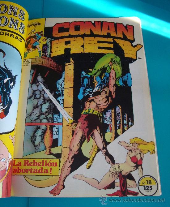 Cómics: MARVEL COMICS GROUP CONAN REY, COMICS FORUN 5 NUMEROS (Nº 16, Nº 17, Nº18, Nº 19 Y Nº 20) - Foto 4 - 36892853