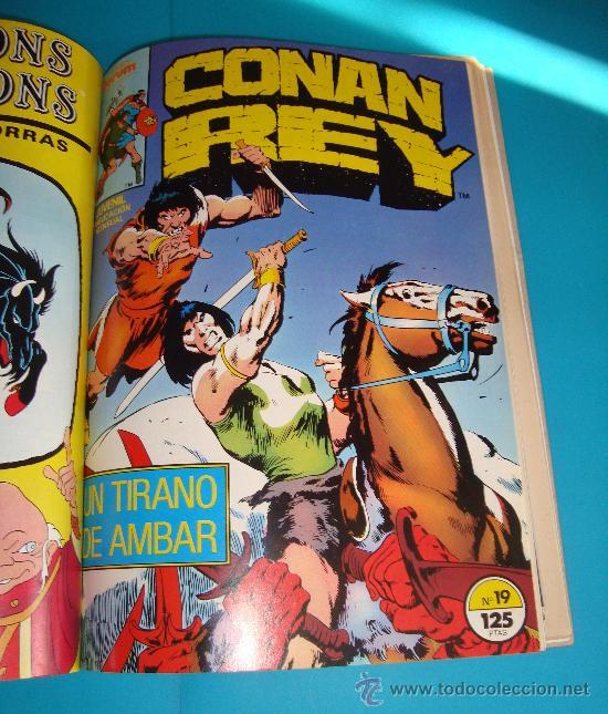 Cómics: MARVEL COMICS GROUP CONAN REY, COMICS FORUN 5 NUMEROS (Nº 16, Nº 17, Nº18, Nº 19 Y Nº 20) - Foto 5 - 36892853
