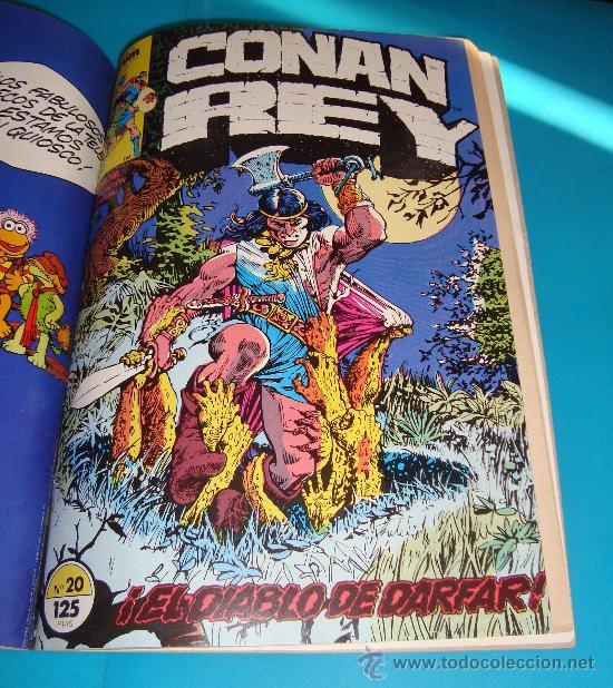 Cómics: MARVEL COMICS GROUP CONAN REY, COMICS FORUN 5 NUMEROS (Nº 16, Nº 17, Nº18, Nº 19 Y Nº 20) - Foto 6 - 36892853