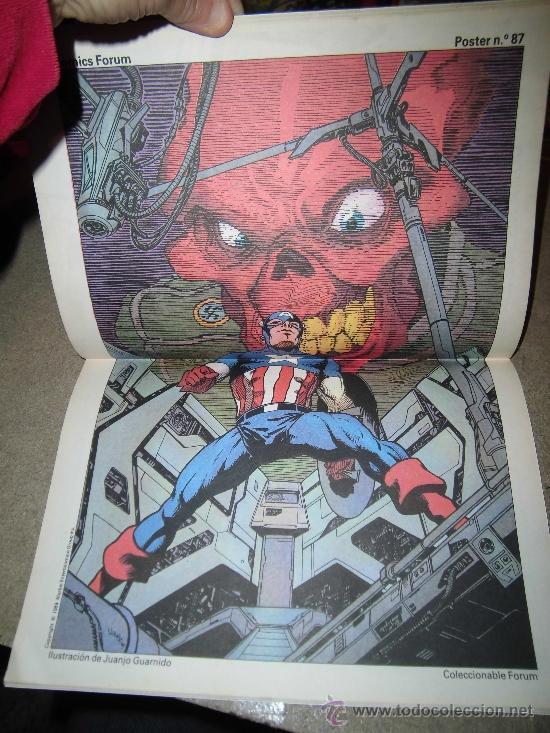 Cómics: CAPITAN AMERICA THOR Nº 57 BIMESTRAL 1989 CON EL POSTER Nº 87 - Foto 2 - 36938025