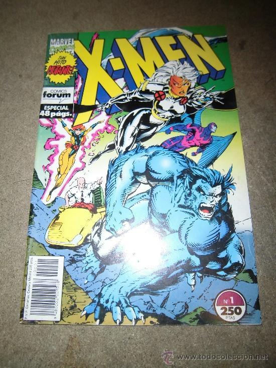 X-MEN Nº 1 FORUM 1992 ESPECIAL 48 PAG (Tebeos y Comics - Forum - X-Men)