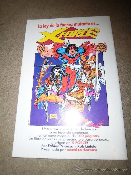 Cómics: X-MEN Nº 1 FORUM 1992 ESPECIAL 48 PAG - Foto 3 - 36938315