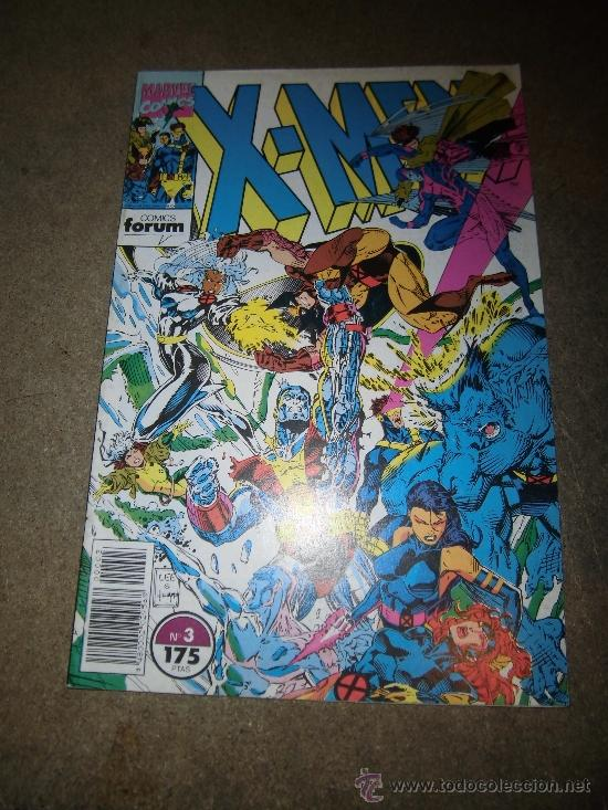 X-MEN Nº 3 FORUM 1992 (Tebeos y Comics - Forum - X-Men)