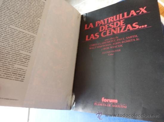 Cómics: X-MEN DESDE LAS CENIZAS OBRAS MAESTRAS NUM. 2 - 224 PAGINAS - FORUM - Foto 2 - 37004759