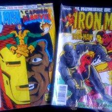 Cómics: LOTE DE 2 COMICS DE IRON MAN / CAPITAN MARVEL. Lote 26790702