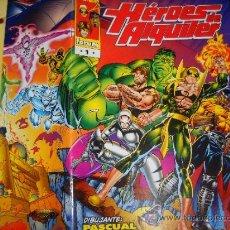 Cómics: HEROES DE ALQUILER. NUMEROS 1 Y 2. HULK, PUÑO DE HIERRO, POWER MAN HERCULES, CABALLERO NEGRO…. Lote 36986601