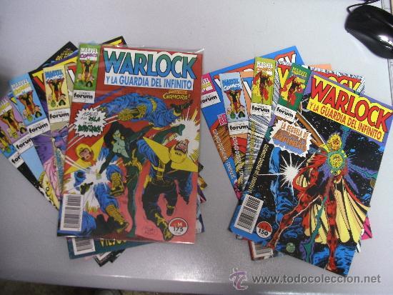 WARLOCK Y LA GUARDIA DEL INFINITO ¡ LOTE 4 NUMEROS ! MARVEL - FORUM (Tebeos y Comics - Forum - Otros Forum)