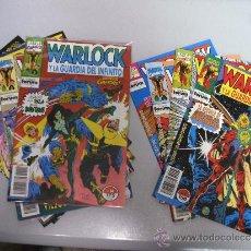 Cómics: WARLOCK Y LA GUARDIA DEL INFINITO ¡ LOTE 4 NUMEROS ! MARVEL - FORUM. Lote 56647608