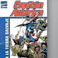 Cómics: CAPITAN AMERICA - EN LA TIERRA SALVAJE - FORUM. Lote 37006886
