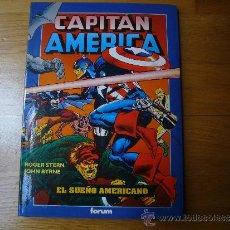 Cómics: CAPITAN AMERICA. EL SUEÑO AMERICANO. OBRAS MAESTRAS 10. FORUM. NUEVO.. Lote 37035464