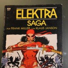 Cómics: ELEKTRA SAGA TOMO 4 FORUM POR FRANK MILLER. Lote 37083447