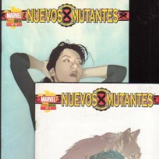 Cómics: NUEVOS MUTANTES - LOTE DE 2 EJEMPLARES Nº 1, 2 - EDITA : PANINI. Lote 26910981