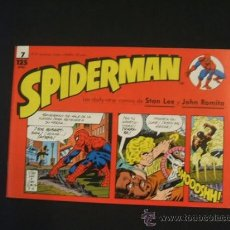 Cómics: SPIDERMAN - Nº 7 - TIRAS DE PRENSA - STAN LEE - JOHN ROMITA - FORUM - . Lote 37126152